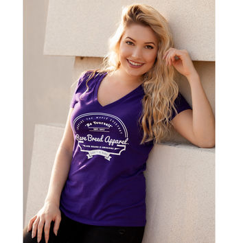 Be Yourself Deep V-Neck Tee