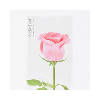 Appree Pink rose sticky memo notes