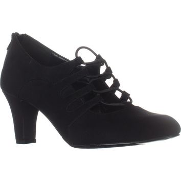 Easy Street Jennifer Oxford Pumps, Black, 6 US