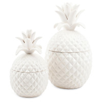 Lidded Pineapple Jar