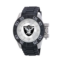 Game Time Beast Series Oakland Raiders Stainless Steel Watch - NFL-BEA-OAK - Men (Black)