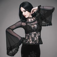 The Laced Witch Top
