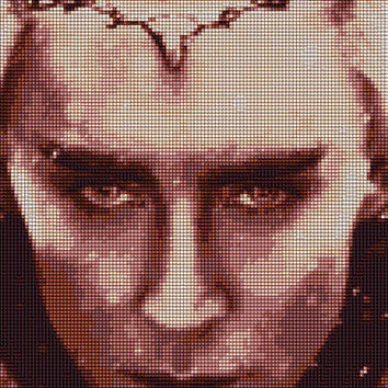 Thranduil Cross Stitch Pattern