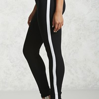 Contrast Stripe Leggings