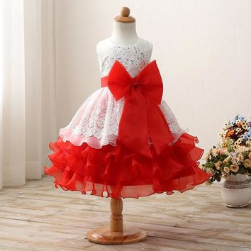 Fancy Kids Clothes Fluffy Baby Girl Evening Dress For Girl Kids's Party Costume Designs Children's Clothing Girl Prom Gown Dress