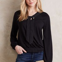 Meadow Rue Montmagny Tie-Neck Top