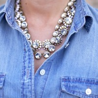 Crystal Necklaces by J.Crew - $98
