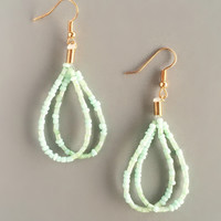 Mint Apsara Earrings