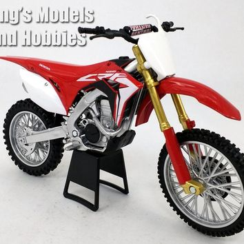 Honda CRF-450R Dirt/Motocross Motorcycle 1/12 Scale Model by NewRay