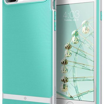 VONEXO9 Caseology Wavelength Series iPhone 7 Plus / 8 Plus Cover Case with Pattern Slim Protective for Apple iPhone 7 Plus (2016) / iPhone 8 Plus (2017) - Mint Green