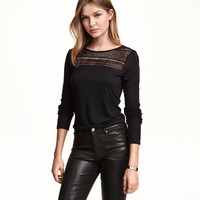H&M Top with Lace $9.99