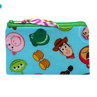 NEW Zippered Bag | Zipper Pouch | Zipper Wallet | Zipper Money Bag | Toy Story Bag | Toy Story Pouch