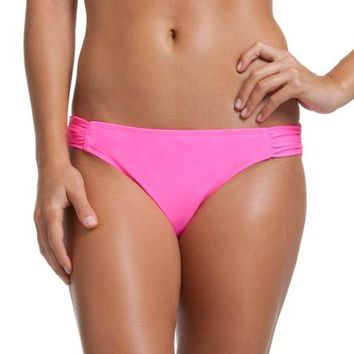 OP Juniors Ruched Hipkini Bottom - Walmart.com