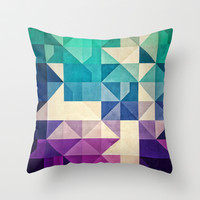 pyrply Throw Pillow by Spires
