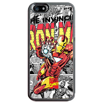 Marvel Comics Iron Man TPU+PC Case for Apple iPhone 6/6s