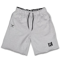 PREMIUM SWEAT SHORTS (LIGHT GREY)