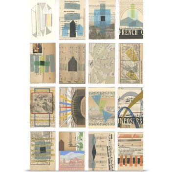 Great BIG Canvas Nikki Galapon Poster Print entitled Mid Century Grid I - Walmart.com