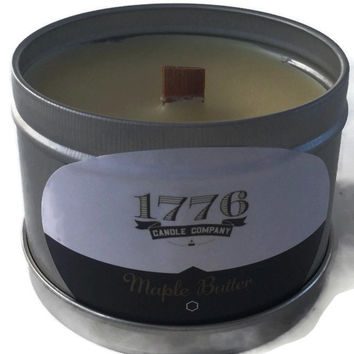 1776 Candle Company - Soy Scented Candle Maple Butter