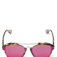 Dior Pink Abstract Sunglasses | Accessories | Liberty.co.uk