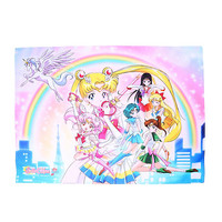 Sailor Moon Pegasus Rainbow Fabric Poster