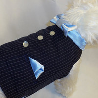 RockinDogs Custom Wedding Suit Vest Tuxedo for Large Dogs