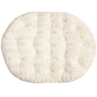 Fuzzy Sand Double Papasan Cushion