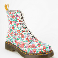 Dr. Martens Wild Poppy 8-Eye Boot - Urban Outfitters