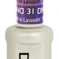 DND - Mood Change Gel - Purple Pink to Lavender 0.5 oz - #D31