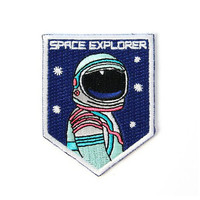 MINI Space Explorer Iron On Patch
