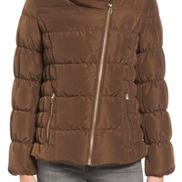 Kenneth Cole Asymmetrical Puffer Jacket | Nordstrom