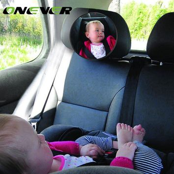 Onever Kids Safety Rear Seat Baby Rear View Mirror For Car Interior Backseat Child Baby View Mirror Safety Wide Angle Mirrors