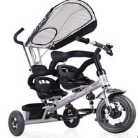 Baby stroller twins children tricycle bike two-seater tricycle double tricycle cart buggies