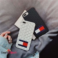 Luxury USA Sport Brand Simple Letter Phone Case For iPhone 7 8 Plus 6 6s Plus TPU Shell Housing For iPhone XS Max XR X Cases