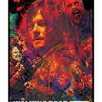 The Walking Dead Daryl Blacklight Poster