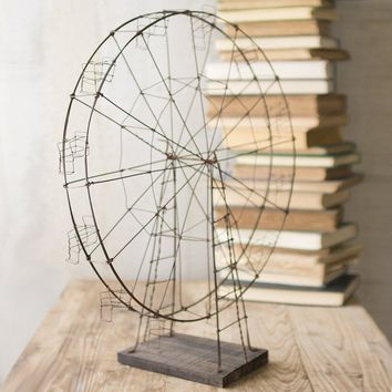 Rustic Wirework Ferris Wheel
