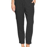 Gap Women Factory Cuffed Skimmer Pants
