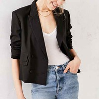 Silence + Noise Shortie Hip-Cut Blazer