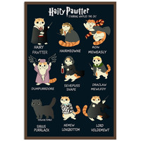 Harry Potter- HAIRY PAWTTER -Poster 18x24 - SSID2016