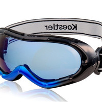Bamboo Design Stylish Windproof Ski Goggles (Blue)