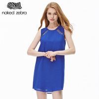 Women Clothing Hollowed-Out Off-The-Shoulder Office Sweet Party Simple Graceful Casual Fashion Dress