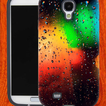Colorful ice abstract light,Accessories,Case,Cell Phone,iPhone 4/4S,iPhone 5/5S/5C,Samsung Galaxy S3,Samsung Galaxy S4,Rubber,28-11-18-Vr