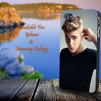 Justin Bieber Releases Dreamlike - Print on hard plastic for iPhone case. Please choose the option.