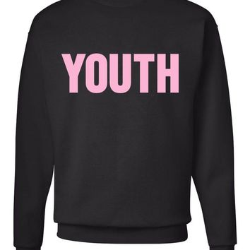 "Shawn Mendes ""YOUTH"" Crew Neck Sweatshirt"