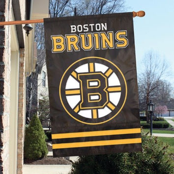 Party Animal AFBRU Bruins Applique Banner Flag