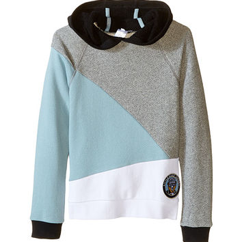 Little Marc Jacobs Long Sleeve Hooded Colors Block Sweatshirt (Little Kids/Big Kids)