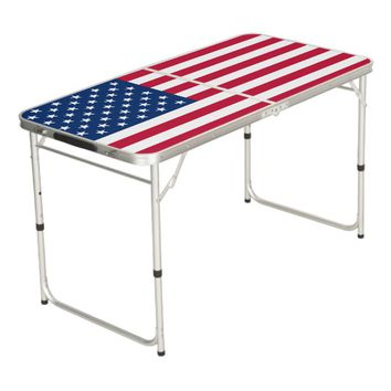 United States of America Flag Beer Pong Table