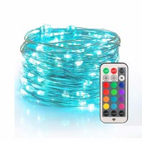 Vintagelll Fairy LightsUSB Plug-in String Lights with RF Remote 33ft Firefly Twinkle Lights for Bedroom Party Decoration Wedding