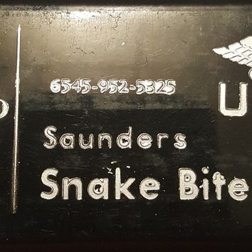 Original WWII US Snake Bite Kit.  Saunders 6548-952-5325 MS Co.