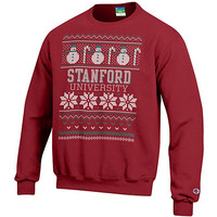 Stanford University Ugly Sweater Crewneck Sweatshirt | Stanford University