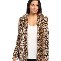 Sam Edelman Leopard Faux Fur Coat